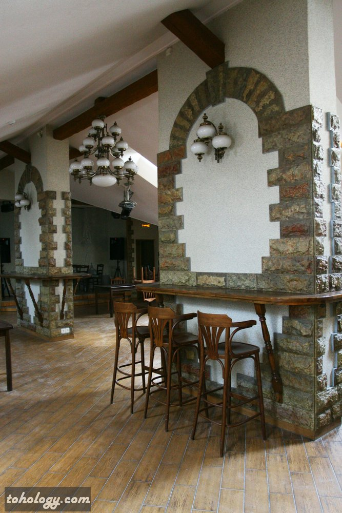Cafe in Giggly Hostel / Кафе