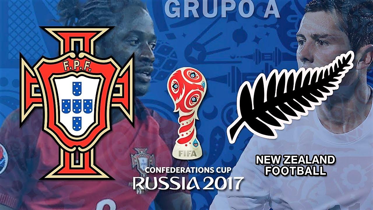 24 de junho, 16h: Portugal X Nova Zelândia