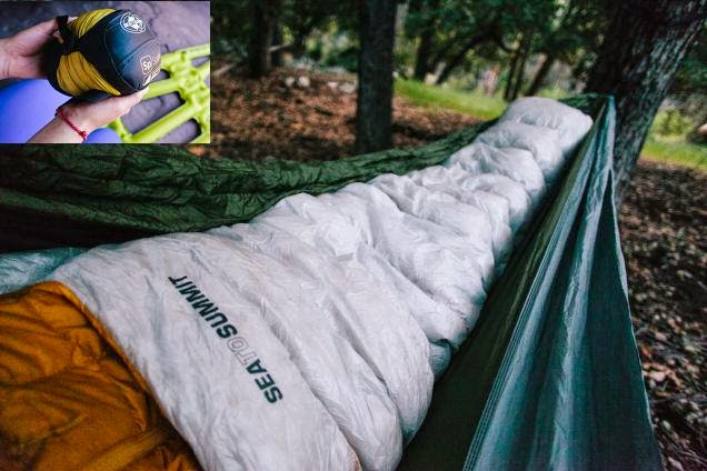 Must Have Backpacking Gadgets - Sea To Summit Ultralight Sleeping Bag