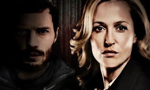 Gillian Anderson y Jamie Dornan en 'La Caza'