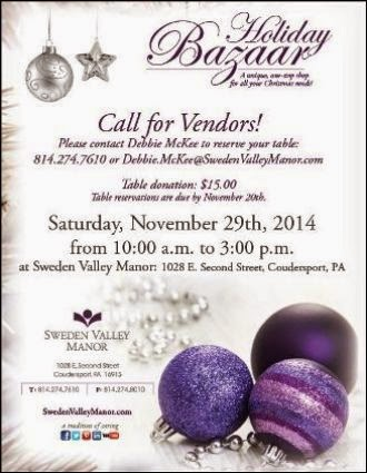 11-29 Call For Vendors