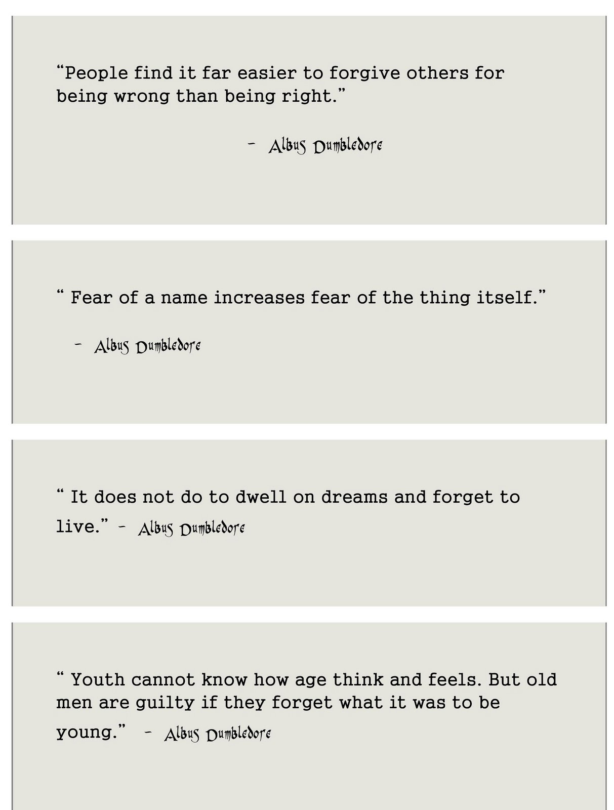 Harry Potter Book Quotes The Review Counter Fave Quotes From Harry Potter