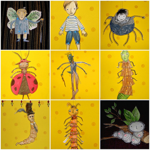 james and the giant peach miss spider book - photo #34