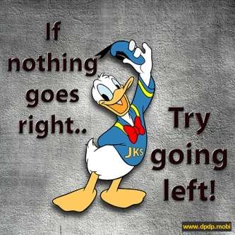 Gambar Tampilan di Bbm Blackberry_if nothing goes right try going left