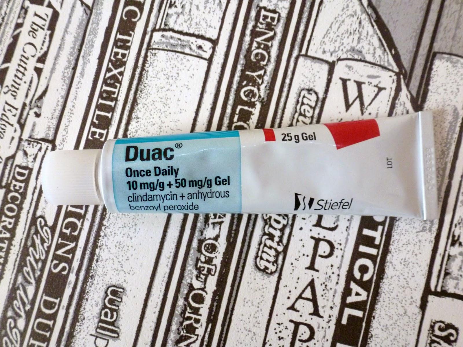 prescribed acne medication duac