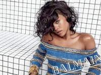 Rihanna é o novo rosto da Balmain