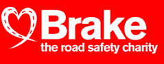 Brake, the road safety charity logo