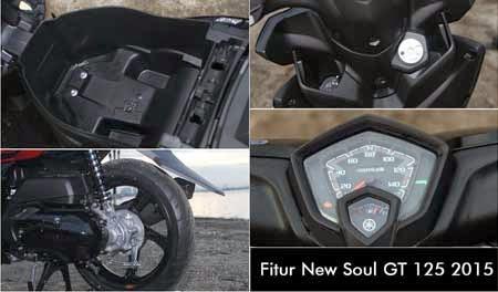 Fitur Yamaha New Soul GT 125