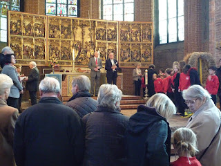 Austeilung in der Marktkirche, Hannover, 2012
