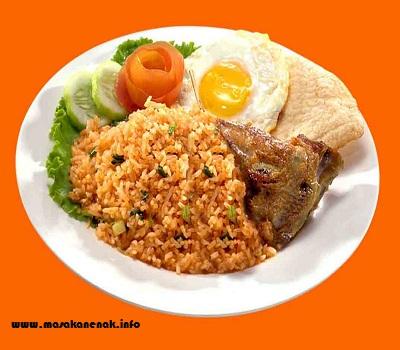 resep nasi goreng jawa resep masakan enak praktis