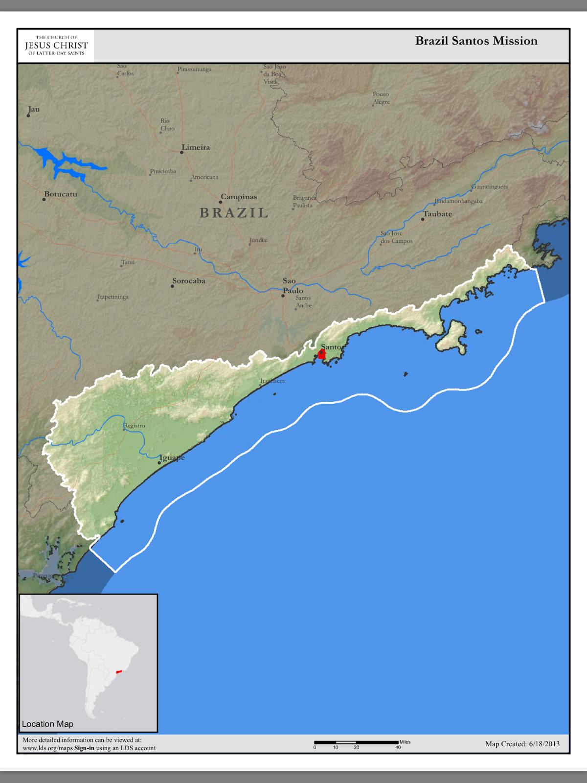 Brazil Santos Mission