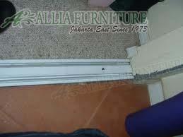 Cara memperbaiki rel jalur di pintu sliding