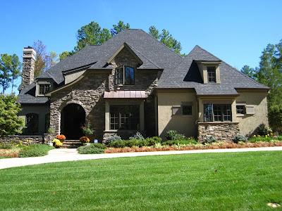 Decoraciones y mas hermosas casas con fachada de piedra - Piedras para fachadas de casas ...