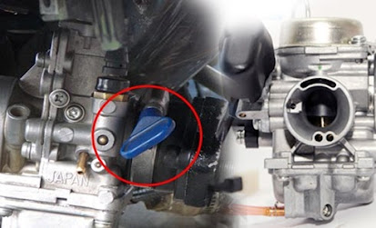 Tips dan Cara Cepat Melepas Karburator Sepeda Motor Dengan Klem Putar