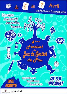 festival du jeu de société à Pau 2013