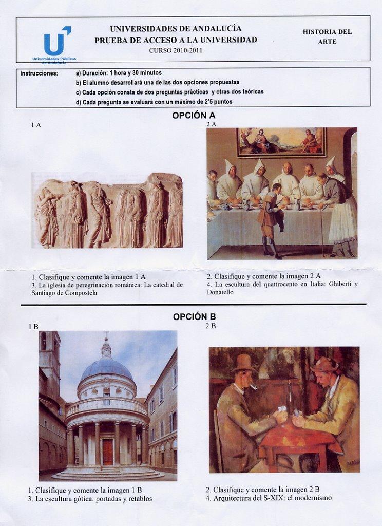 historia arte andalucia: