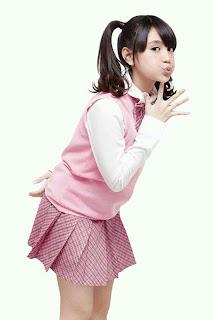 nabilah foto premium content JKT48 clock