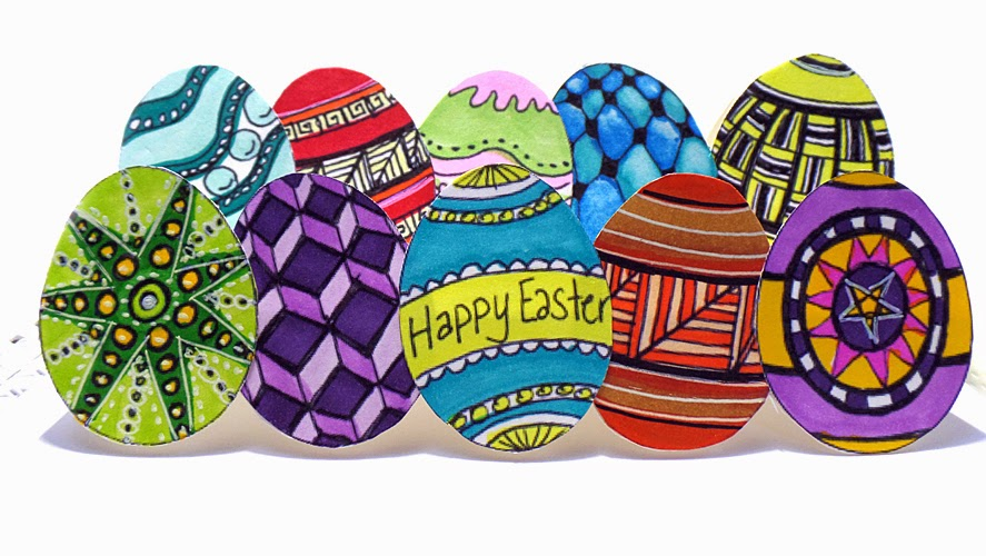 Crafty Crusaders Easter Card and Challenge Mepxy Markers – Make Your Own Easter Cards
