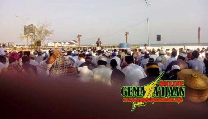 Ratusan Jemaah Muhammadiyah Kotabaru Laksanakan Sholat Ied