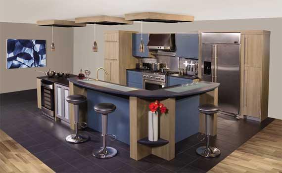 Dise o y decoraci n de la casa ideas para tener una for Comedor tipo barra