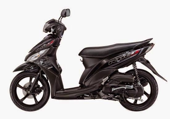 Yamaha Mio J FI CW Black