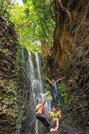 Small water falls on the way to Dudhsagar Water Falls