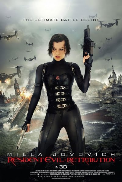 2012 Resident Evil Retribution Movie Poster