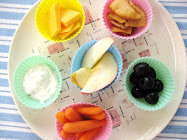 Snack in Cupcake Liners!