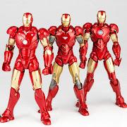KaiyodoRevoltech Scifi: 036 Iron Man Mark III, Marzo 2012, .