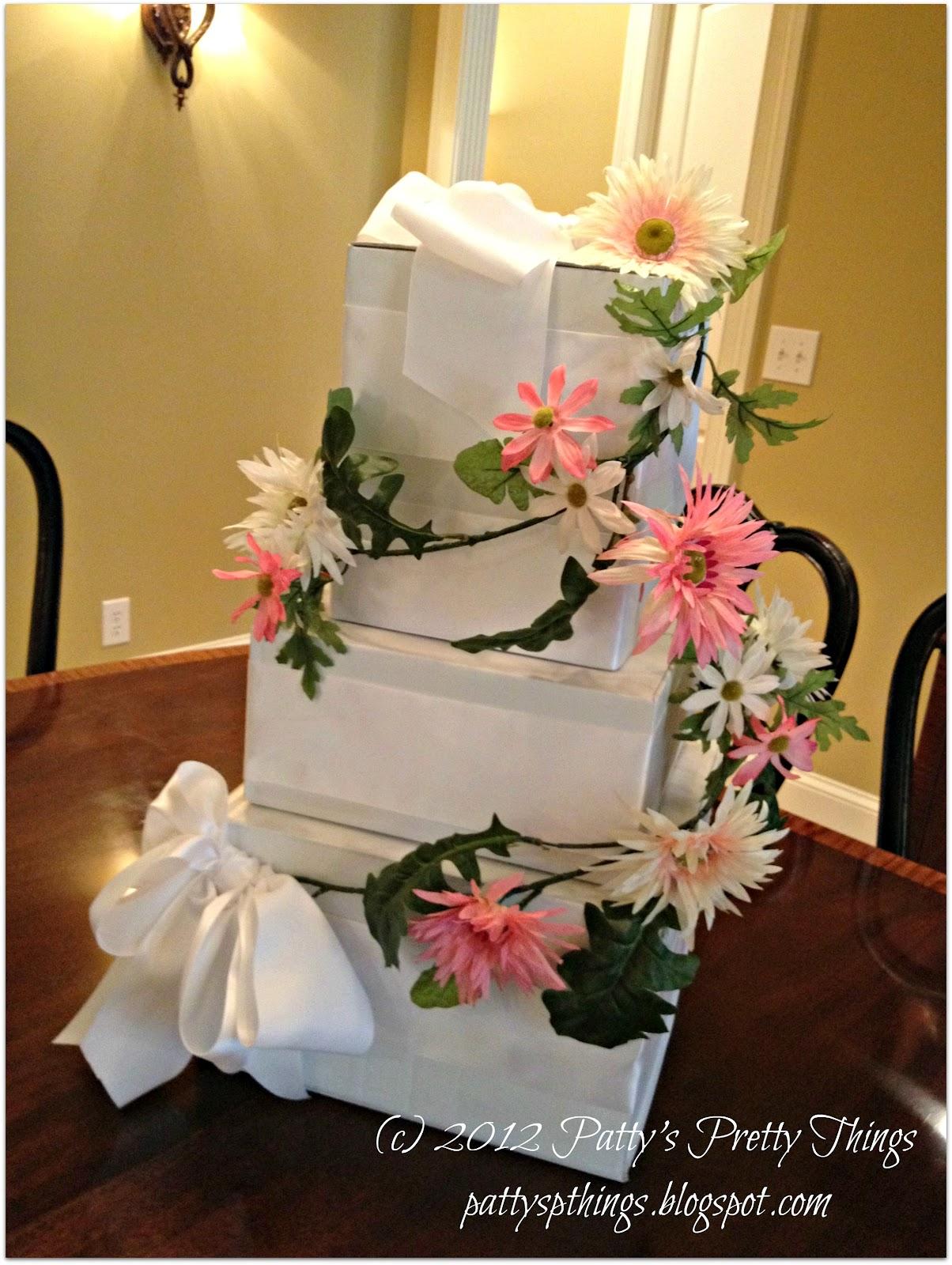 Wedding Cake Card Box Diy