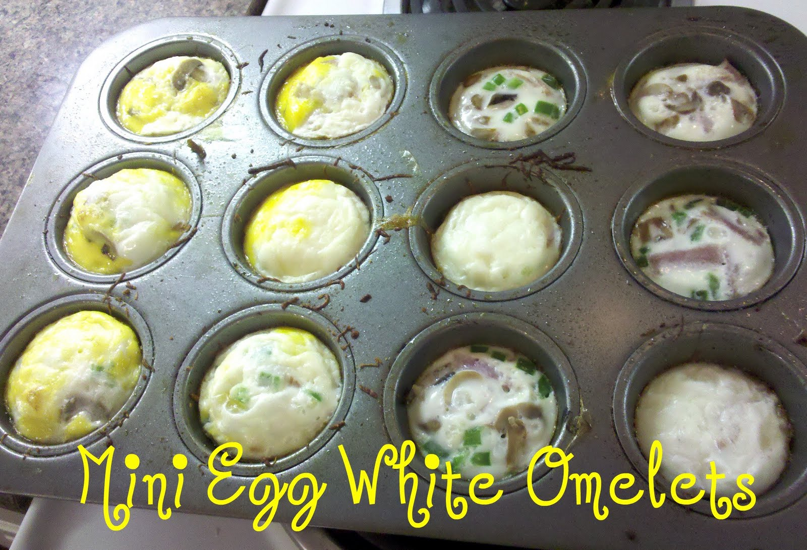 mini omelets bake in muffin tin