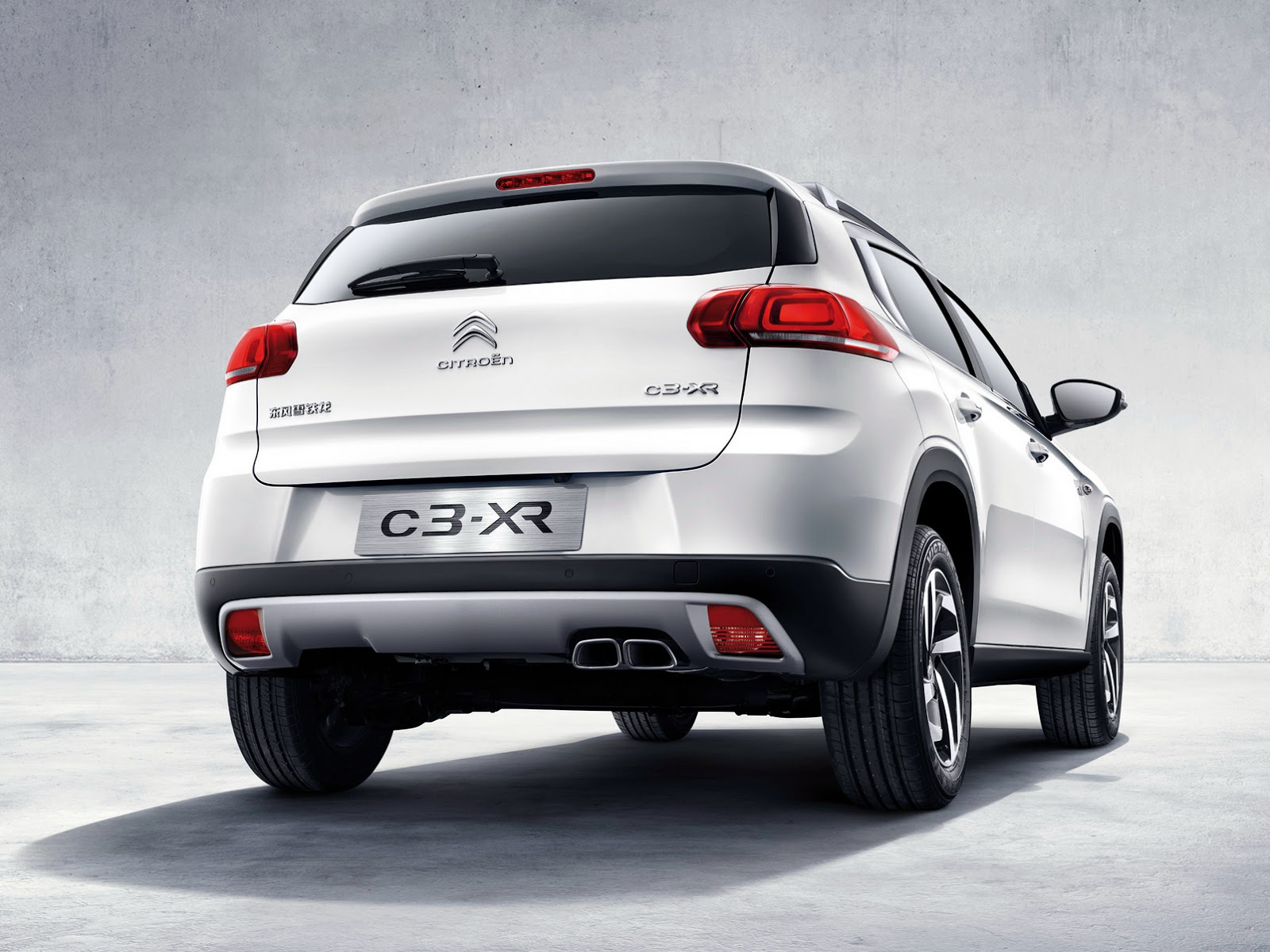new citroen c3 xr small suv wears its production outfit. Black Bedroom Furniture Sets. Home Design Ideas