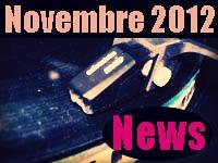 Les brèves musicales de Novembre 2012