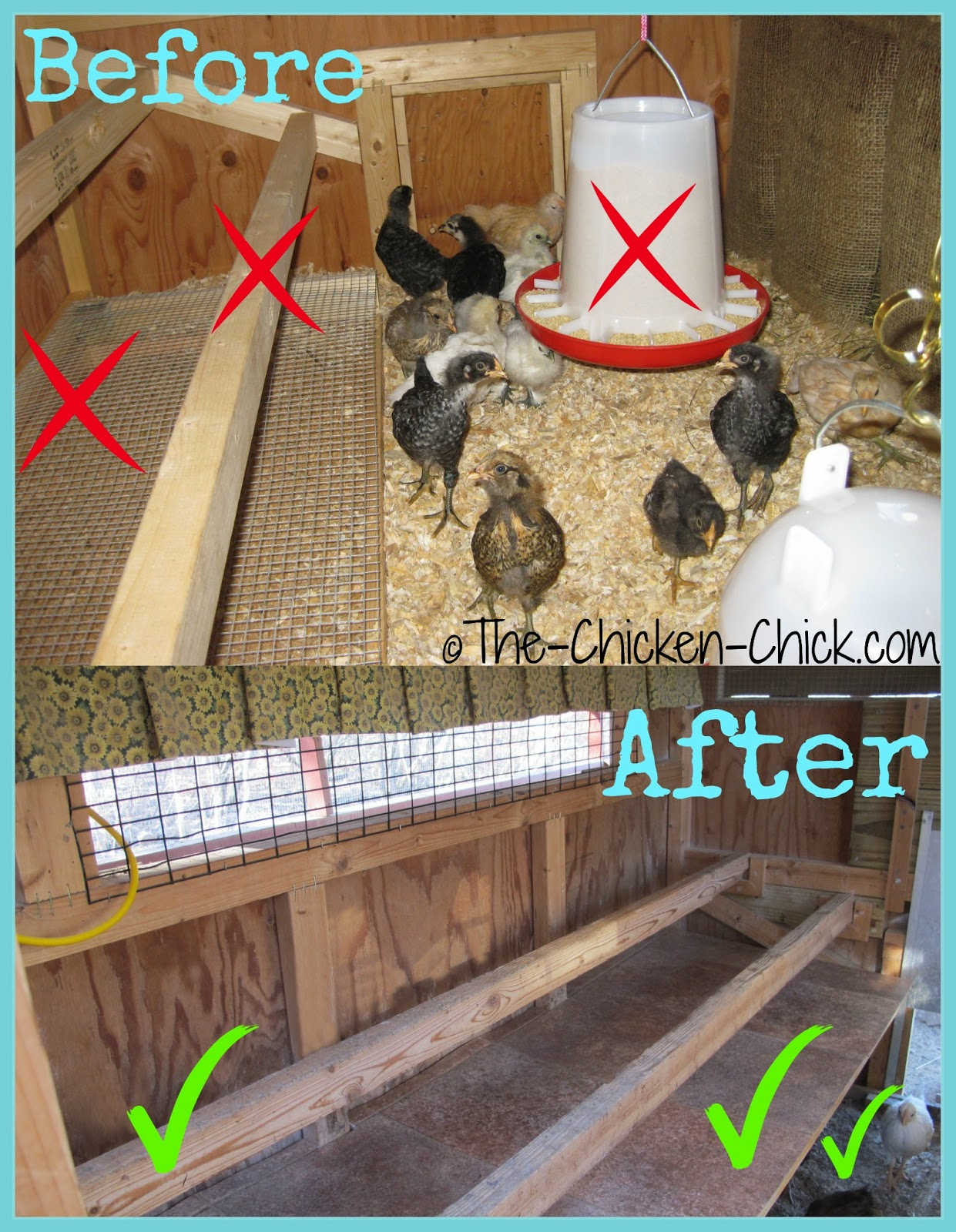 The Chicken Chick 174 Maximizing Space Available When Adding