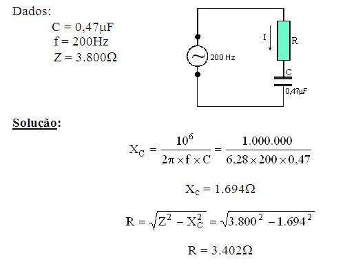 Circuito Rlc Serie Exercicios Resolvidos : EletrÔnica do papai noel curso de circuitos