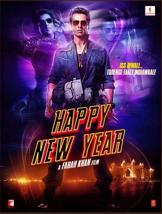 Sonu Sood - Happy New Year HNY Movie First Look Still Photos