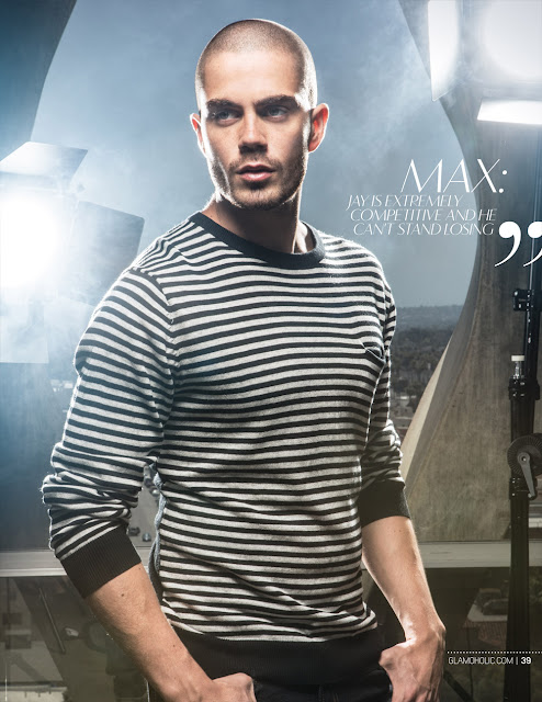 Max the wanted na revista Glamoholic