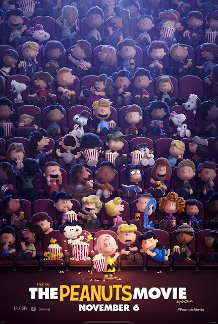 Filme Peanuts ganha novo poster
