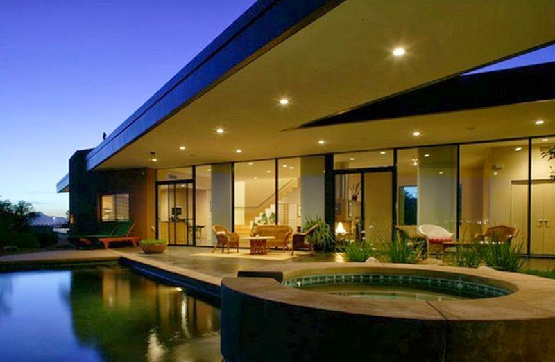 Fachadas de casas modernas fachadas de casas modernas un piso for Fachadas pisos modernas