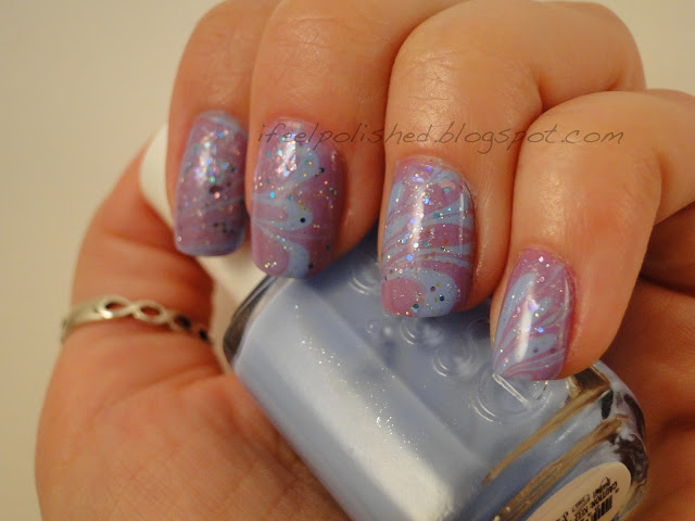 Essie Bikini So Teeny Water Marbling
