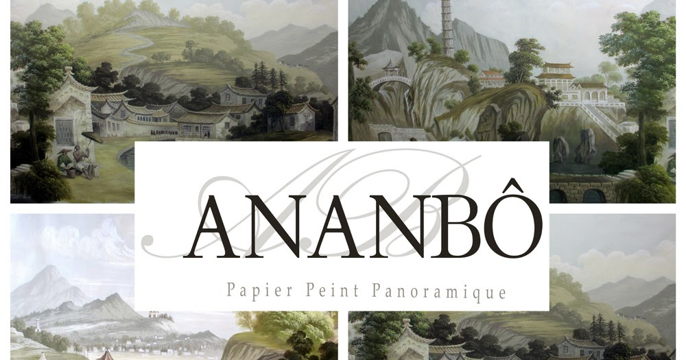 ananb voyage nankin papier peint panoramique. Black Bedroom Furniture Sets. Home Design Ideas
