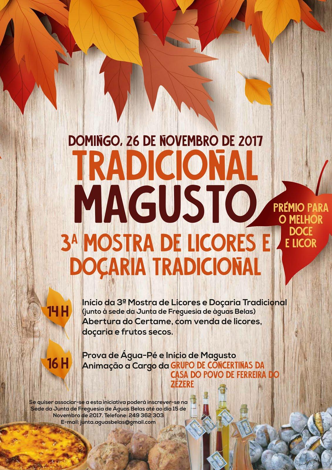 Espaço comercial - 3.ªMostra licores e doçaria tradicional - Dia 26 de novembro em Águas Belas