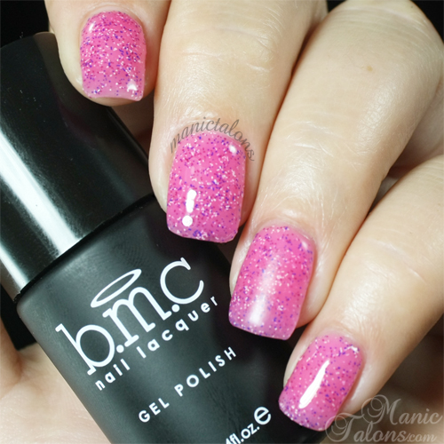 BMC Gel Polish Guava Drop Swatch