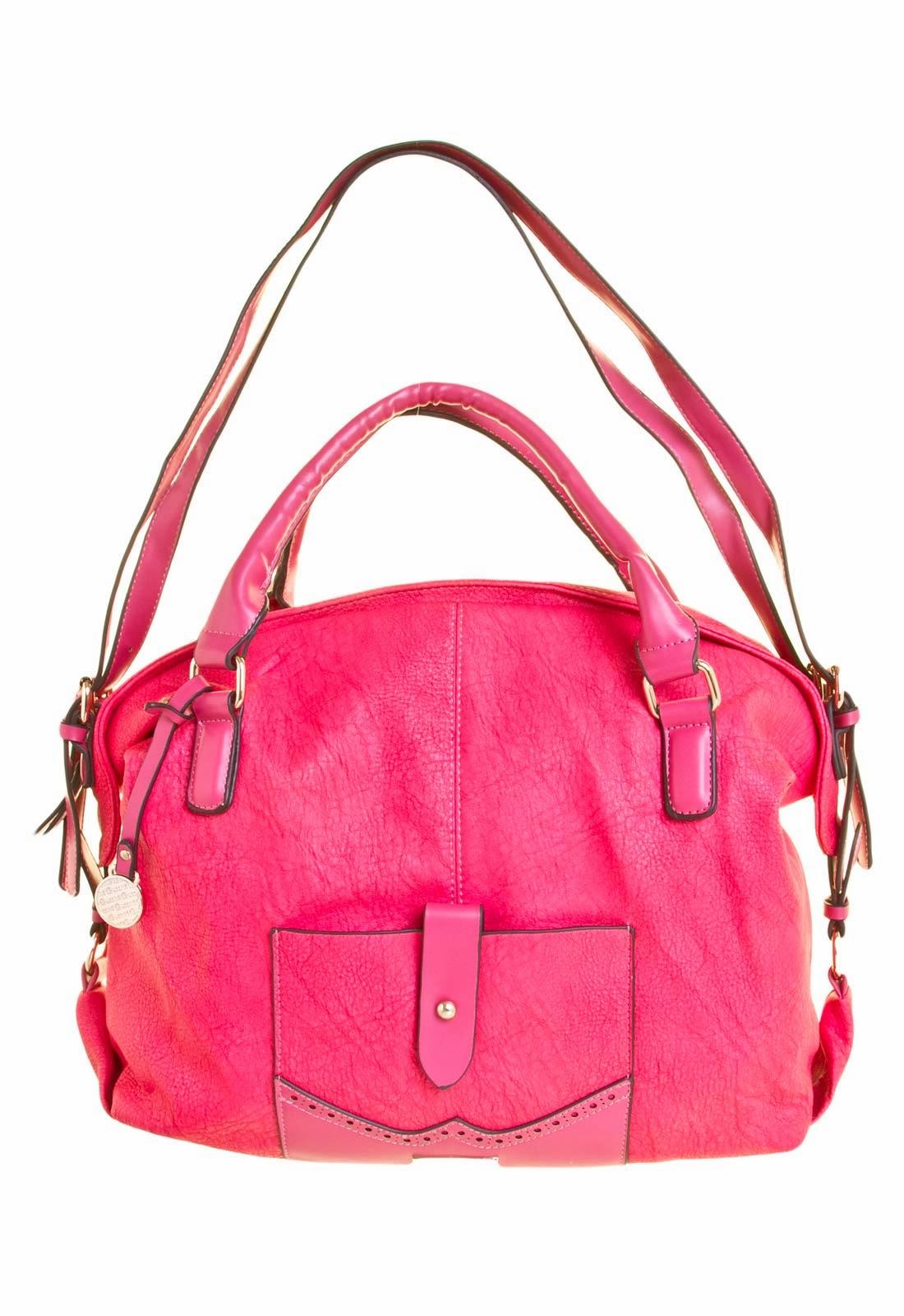 6abfe3120a50b Bazar Desapega  Bolsa Queens Pink