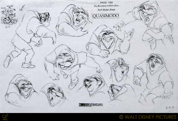 """a discussion of the hero in the hunchback of notre dame When i first heard about the project, i wondered if """"the hunchback of notre dame"""" could possibly work as a disney animated feature--if the fearsome features and fate of its sad hero quasimodo would hold audiences at arm's length."""