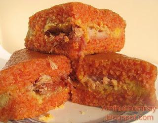 Bánh Chưng Gấc (ngọt)
