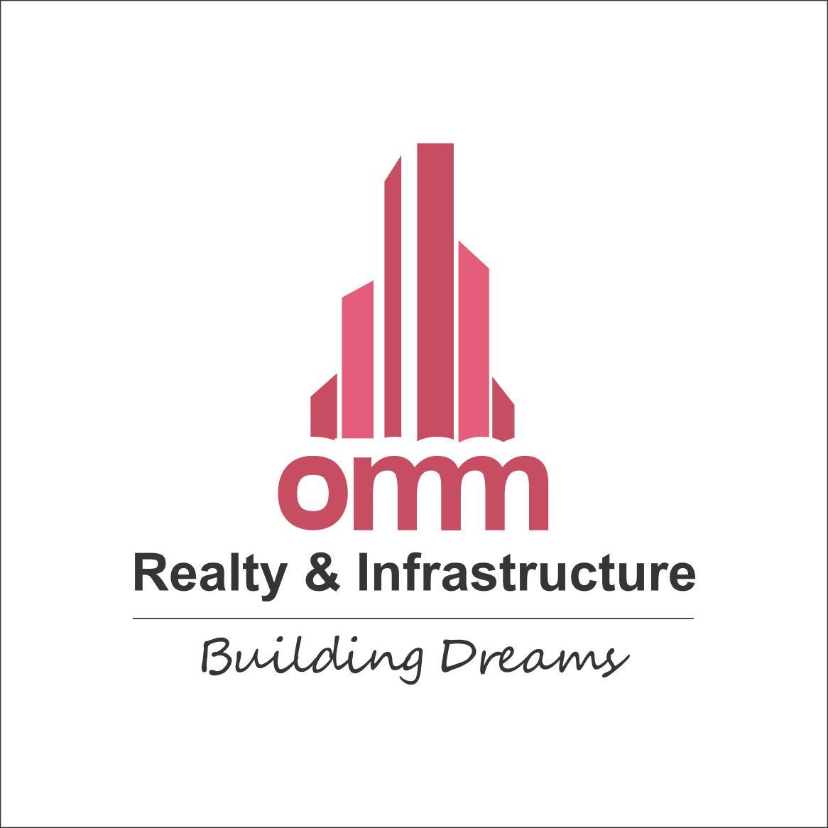 Prafull Sonavane Omm Realty Logo Stationary