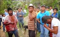 """Honduras: """"Ni balas ni machetes detendrán nuestra lucha por el agua y la tierra"""" María Domínguez"""