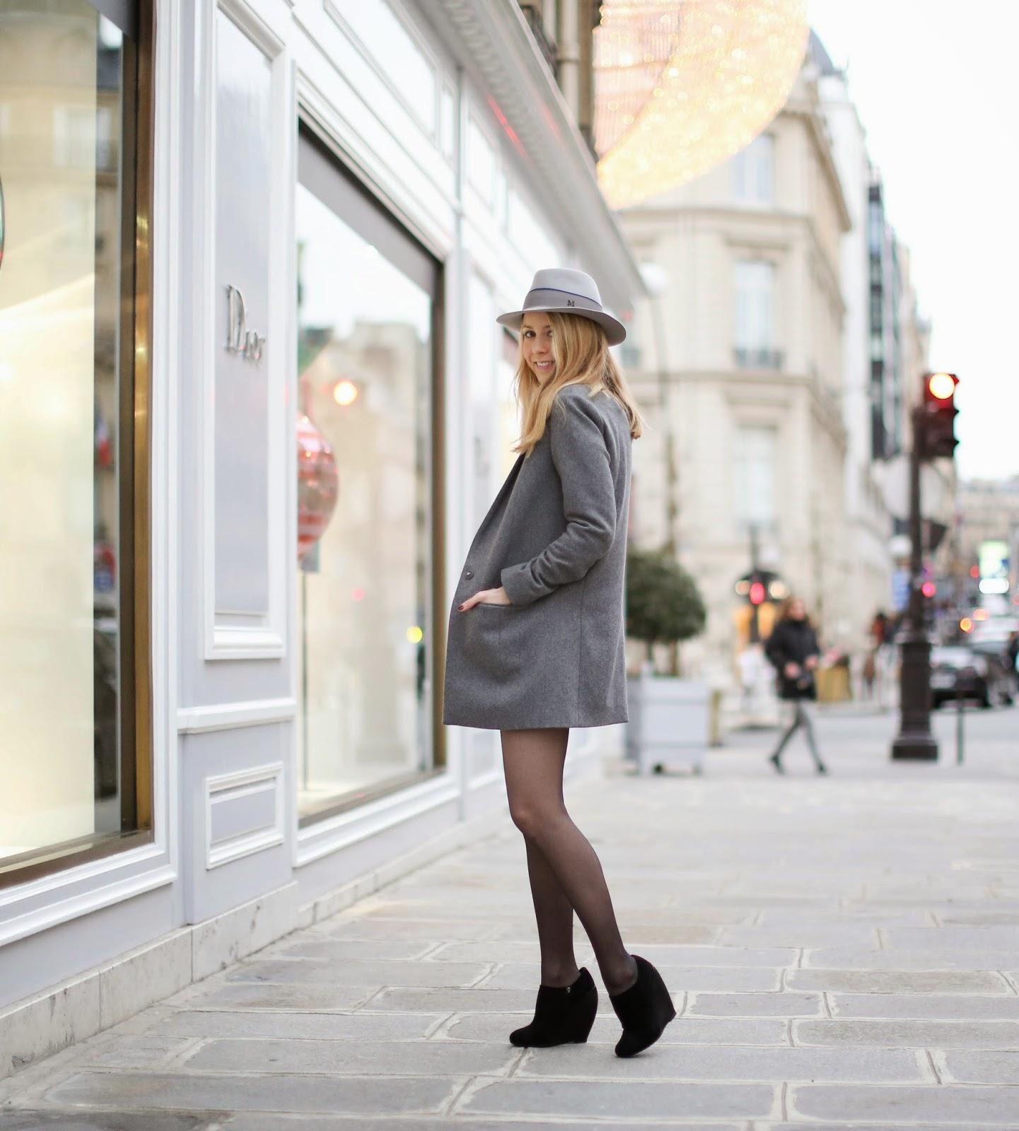 cos, topshop, alaia, chanel, maison michel, avenue montaigne, fashion blogger, dior, streetstyle, christmas eve
