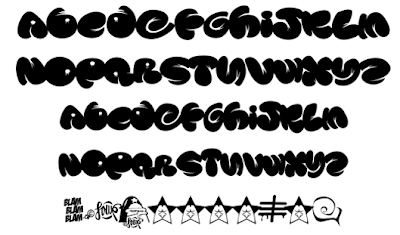 Characters_Graffiti_Alphabet_Letters_Fonts_Bubble_Tribal